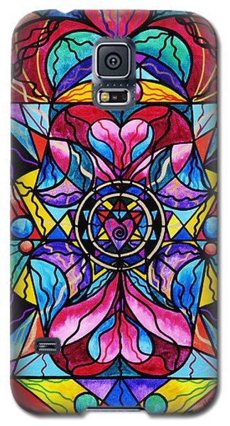 Blue Ray Healing Galaxy S5 Case