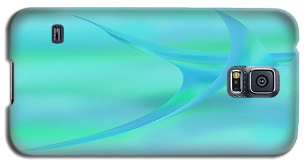 Blue Ray Galaxy S5 Case by Stephanie Grant