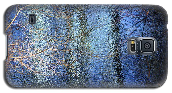 Blue Reflections Of The Patapsco River Galaxy S5 Case