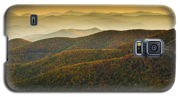 Galaxy S5 Case featuring the photograph Blue Ridge Autumn by Serge Skiba