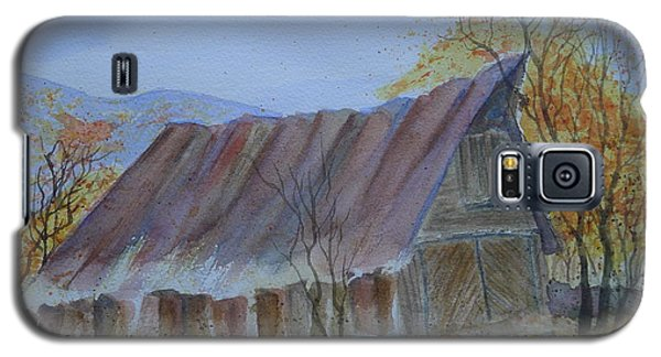 Blue Ridge Barn Galaxy S5 Case by Joel Deutsch