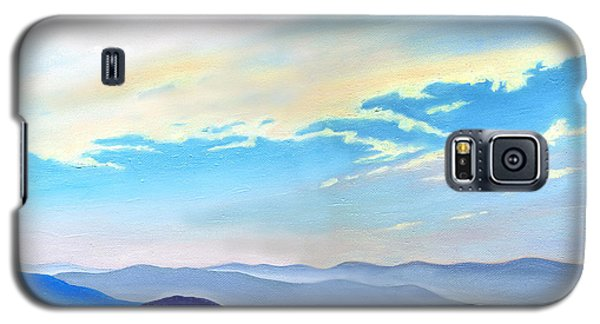 Blue Ridge Blue Above Galaxy S5 Case