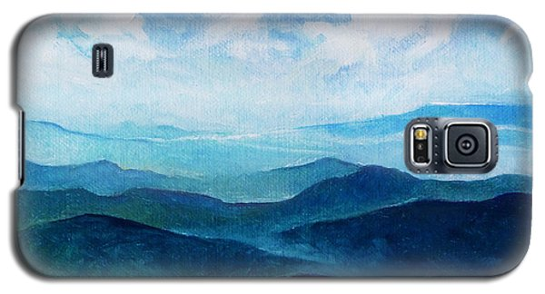Blue Ridge Blue Skyline Sheep Cloud Galaxy S5 Case