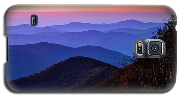 Blue Ridge Dawn Galaxy S5 Case