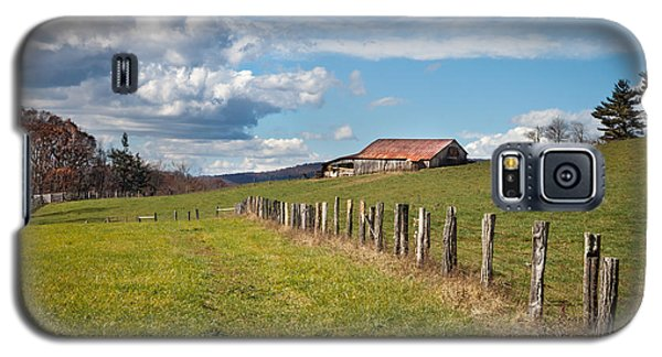 Blue Ridge Farm Land Galaxy S5 Case
