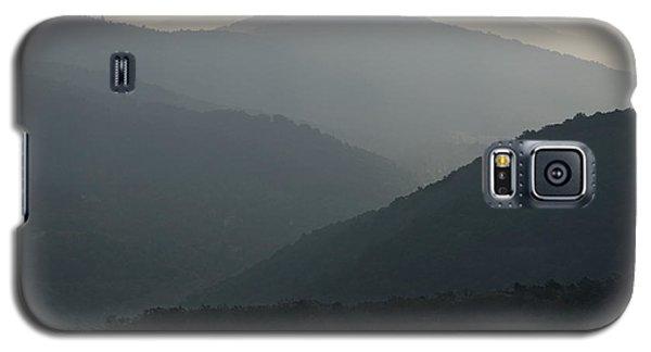 Blue Ridge Morning Galaxy S5 Case