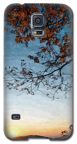 Blue Ridge Mountail Fall Galaxy S5 Case