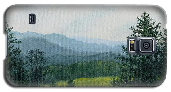 Blue Ridge Mountain Meadow - After The Rain Galaxy S5 Case