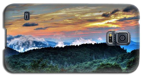 Blue Ridge Mountain Sunrise  Galaxy S5 Case