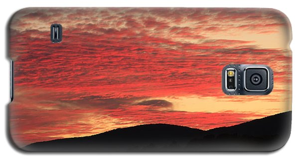 Galaxy S5 Case featuring the photograph Blue Ridge Mountain Sunset-alabama by Mountains to the Sea Photo