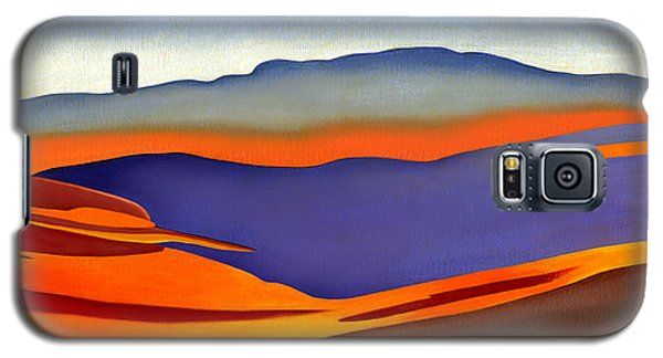 Blue Ridge Mountains East Fall Art Abstract Galaxy S5 Case
