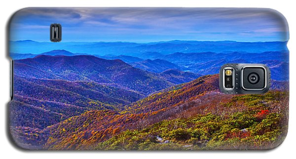 Galaxy S5 Case featuring the photograph Blue Ridge Parkway by Alex Grichenko