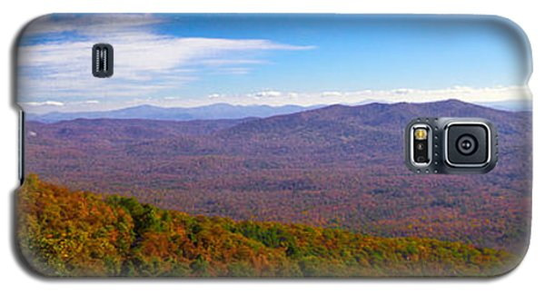 Galaxy S5 Case featuring the photograph Blue Ridge Parkway by Marion Johnson
