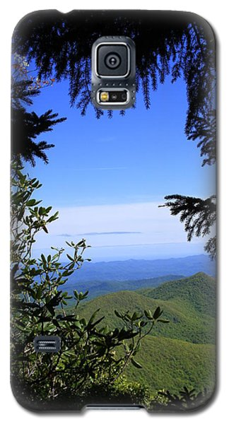 Galaxy S5 Case featuring the photograph Blue Ridge Parkway Norh Carolina by Mountains to the Sea Photo