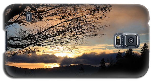 Galaxy S5 Case featuring the photograph Blue Ridge Parkway Sunrise by Mountains to the Sea Photo