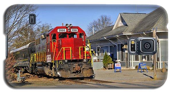 Blue Ridge Scenic Railway Galaxy S5 Case