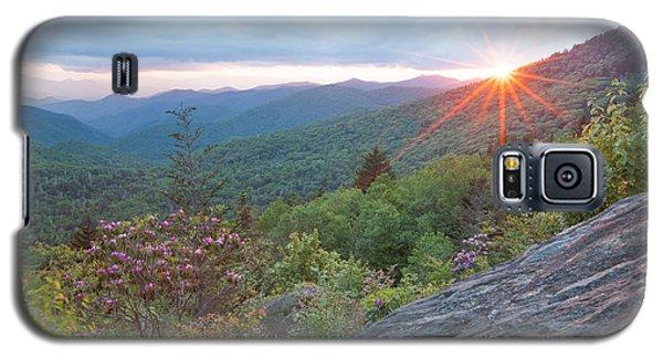 Blue Ridge Sunset Galaxy S5 Case