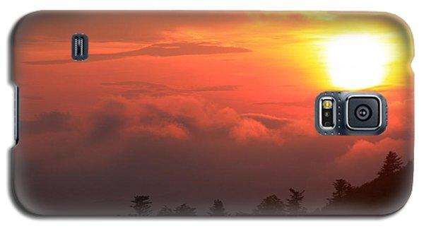 Blue Ridge Sunrise Great Balsam Mountains Galaxy S5 Case