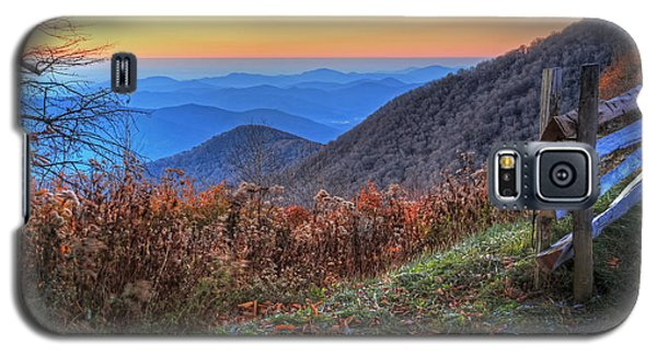 Blue Ridge Sunrise Galaxy S5 Case
