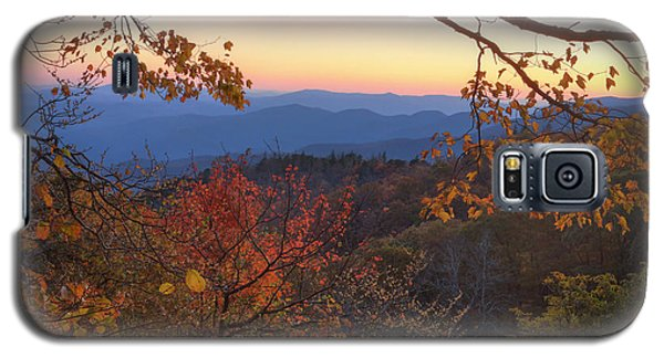 Blue Ridge Sunset Galaxy S5 Case