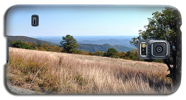 Galaxy S5 Case featuring the photograph Blue Ridge View by Kelly Nowak