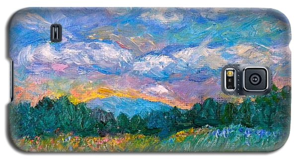 Blue Ridge Wildflowers Galaxy S5 Case