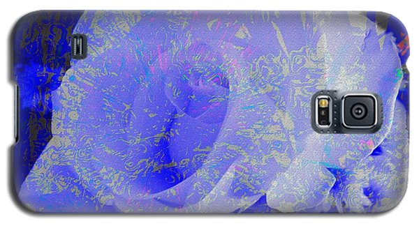 Blue Rose Galaxy S5 Case by Kathie Chicoine