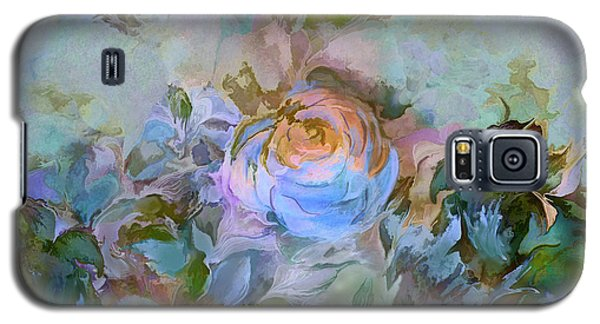 Blue Rose Galaxy S5 Case by Ursula Freer