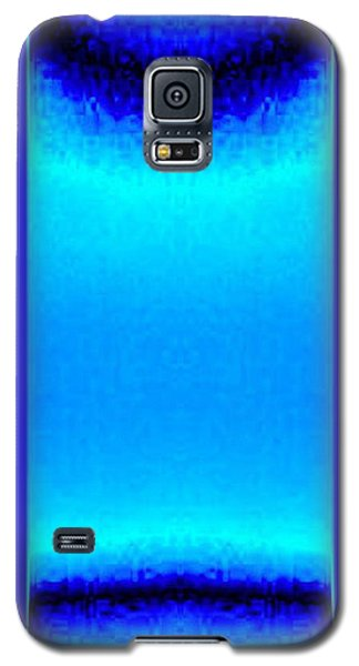 Blue Satin Ribbon Galaxy S5 Case
