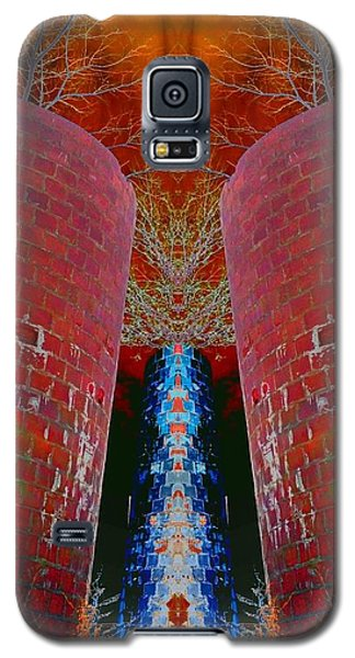 Blue Silo Galaxy S5 Case by Karen Newell