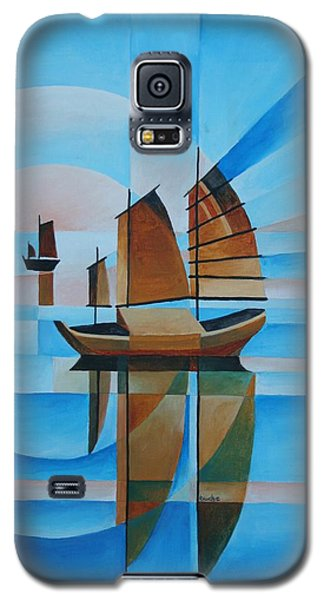 Blue Skies And Cerulean Seas Galaxy S5 Case