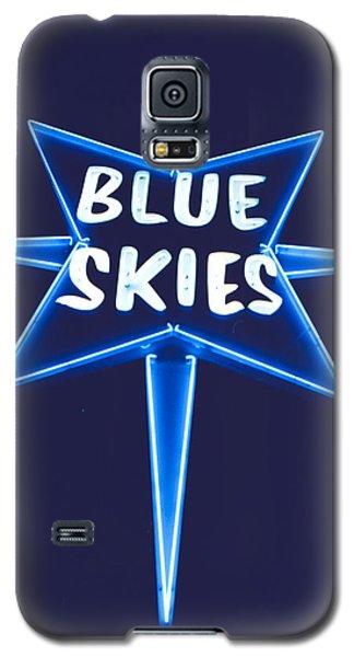Blue Skies Galaxy S5 Case by Matthew Bamberg