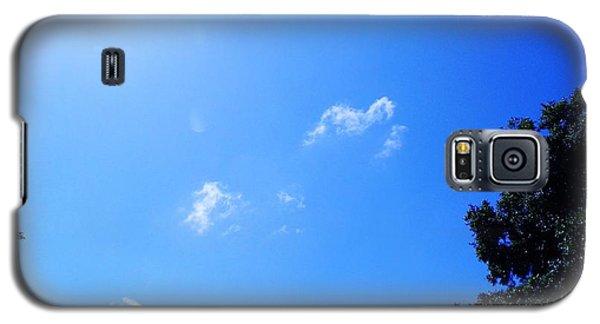 Blue Sky And Sunshine Galaxy S5 Case