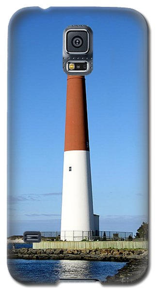 Blue Sky Blue Sea  And Barnegat Light Galaxy S5 Case by Christiane Schulze Art And Photography
