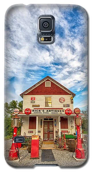 Blue Sky Over Rick's Antiques Galaxy S5 Case