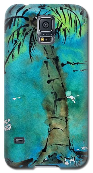Blue Sky Palm Galaxy S5 Case