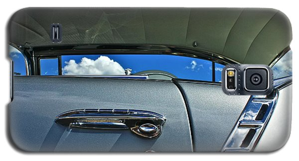 Galaxy S5 Case featuring the photograph 1956 Chevy Bel Air by Linda Bianic