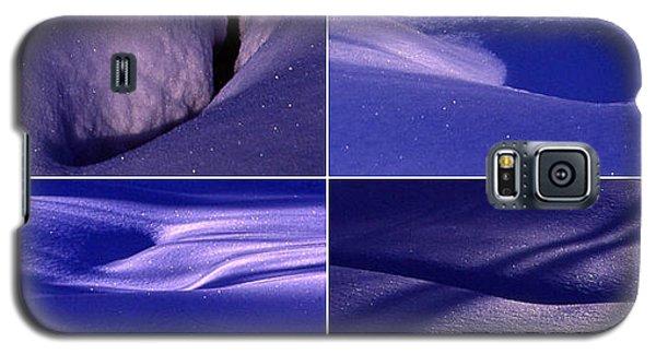 Galaxy S5 Case featuring the photograph Blue Snow by Randi Grace Nilsberg