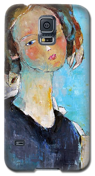 Blue Sonata Galaxy S5 Case by Becky Kim