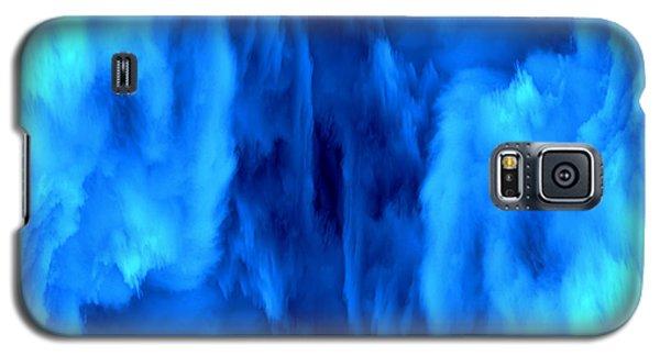 Blue Space Galaxy S5 Case by Michal Boubin
