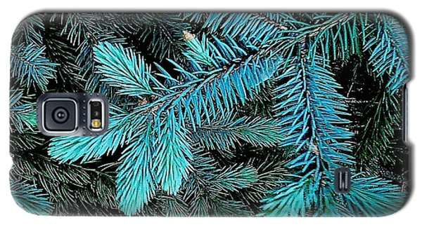 Galaxy S5 Case featuring the photograph Blue Spruce by Daniel Thompson