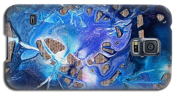 Blue Starburst Galaxy S5 Case by Yolanda Koh