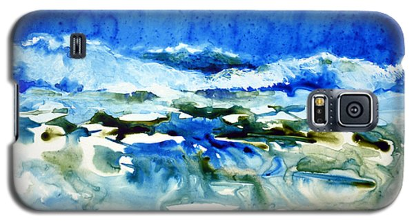 Blue Surf Galaxy S5 Case