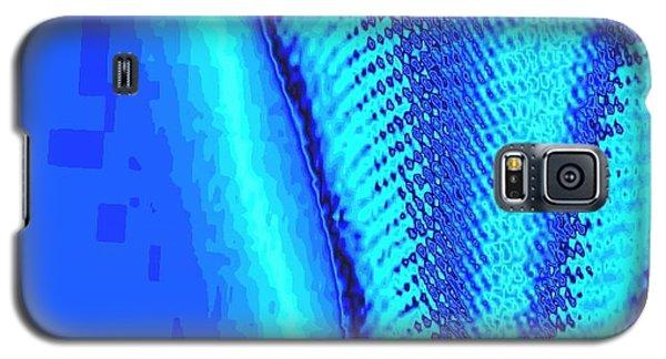 Blue Swatch Galaxy S5 Case