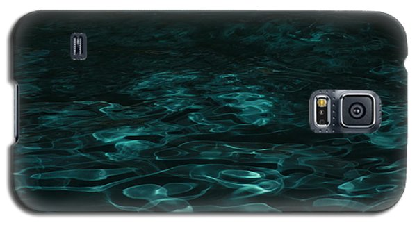 Galaxy S5 Case featuring the photograph Blue Swirl One by Chris Thomas