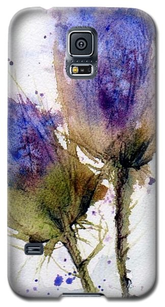 Blue Thistle Galaxy S5 Case