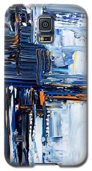 Blue Thunder Galaxy S5 Case by Rebecca Davis