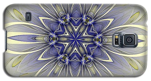 Blue Trance Galaxy S5 Case
