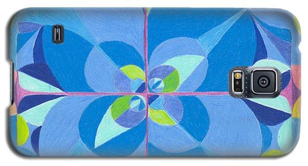 Blue Unity Galaxy S5 Case by Kim Sy Ok