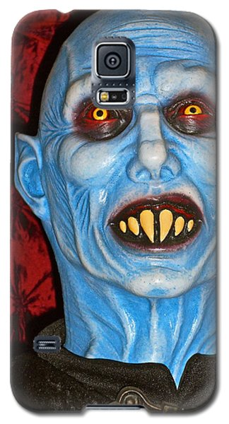 Galaxy S5 Case featuring the photograph Blue Vampire by Joan Reese